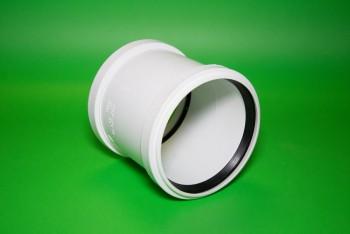 Канализация. Муфта ПП 110 Двухраструбная, белая - Производство и продажа полипропиленовых труб «МегаТерм»