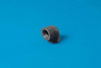 """Чугун.  Угольник. Резьбовой Ду 20 ВнР (3/4"""") Черный - Производство и продажа полипропиленовых труб «МегаТерм»"""