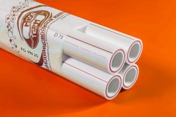 ППРС. Труба. PN25. FG (4м). D 75 армир. стекловолокном (Энергия) - Производство и продажа полипропиленовых труб «МегаТерм»