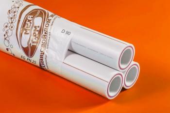 ППРС. Труба. PN25. FG (4м). D 90 армир. стекловолокном (Энергия) - Производство и продажа полипропиленовых труб «МегаТерм»