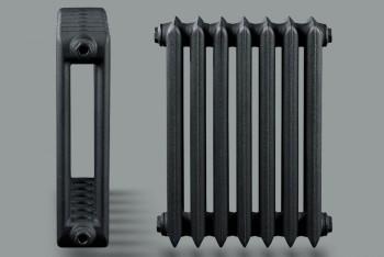 Радиатор Чугунный Urban U4-140.60.580/500-0,84 кВт  7 секций цвет графит (Н.Тагил) - Производство и продажа полипропиленовых труб «МегаТерм»
