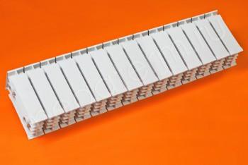 Радиатор Биметалл Напольный 150/120 14 секций Tenrad - Производство и продажа полипропиленовых труб «МегаТерм»