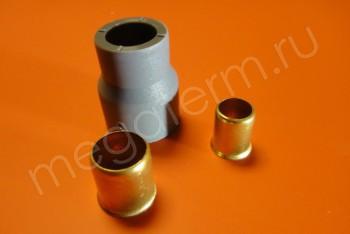 PERT Муфта переход.  D20-16 - Производство и продажа полипропиленовых труб «МегаТерм»