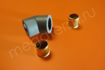 PERT Угольник D 20-135 - Производство и продажа полипропиленовых труб «МегаТерм»