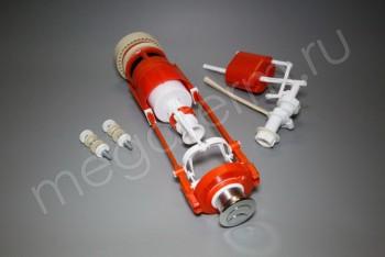 Арматура д/унитаза АС-11М 2-х Кнопочная (Тула) - Производство и продажа полипропиленовых труб «МегаТерм»