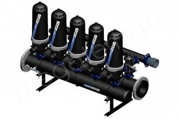 Система Фильтрации Дисковая HF 205 Helix 5-200 мкм (Azud) - Производство и продажа полипропиленовых труб «МегаТерм»