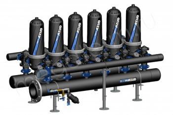 Система Фильтрации Дисковая HF 206 Helix 5-200 мкм (Azud) - Производство и продажа полипропиленовых труб «МегаТерм»