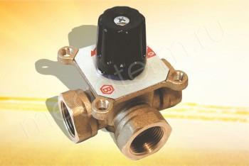 """460 Смесительный Поворотный Клапан 1. 1/4""""МММ, Кv18 (Barberi) - Производство и продажа полипропиленовых труб «МегаТерм»"""