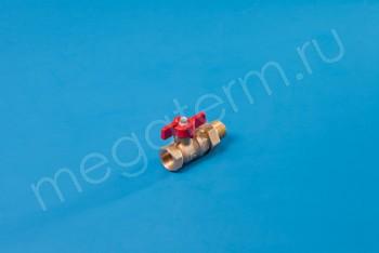 Латунь. Кран Шаровой.Вода Ду 15 М-НГ/П Баб.11Б27П1.БАЗ - Производство и продажа полипропиленовых труб «МегаТерм»