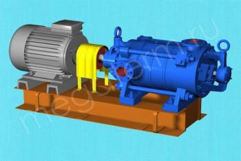 Насос ЦНС (Г)  38-198 с Двигателем 37/3000 (Пенза) - Производство и продажа полипропиленовых труб «МегаТерм»