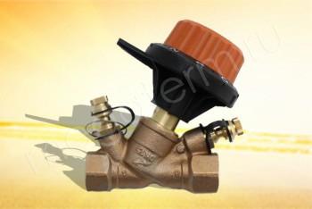 """751404 Балансировочный Клапан  1/2"""" (Comap) - Производство и продажа полипропиленовых труб «МегаТерм»"""