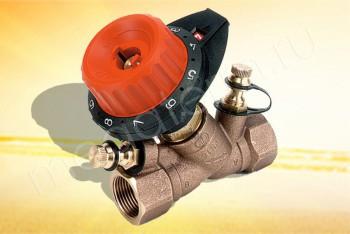 """751406 Балансировочный Клапан  3/4"""" (Comap) - Производство и продажа полипропиленовых труб «МегаТерм»"""