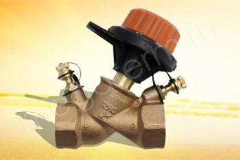 """751408 Балансировочный Клапан 1"""" (Comap) - Производство и продажа полипропиленовых труб «МегаТерм»"""