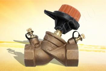 """751410 Балансировочный Клапан 1.1/4"""" (Comap) - Производство и продажа полипропиленовых труб «МегаТерм»"""