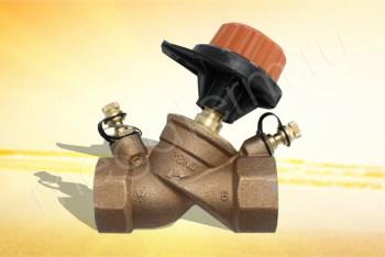 """751412 Балансировочный Клапан 1.1/2"""" (Comap) - Производство и продажа полипропиленовых труб «МегаТерм»"""
