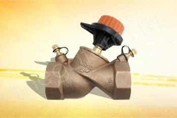 """751416 Балансировочный Клапан 2"""" (Comap) - Производство и продажа полипропиленовых труб «МегаТерм»"""