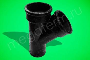 Канализация Тройник 150 -150 х 45*, ЧК - Производство и продажа полипропиленовых труб «МегаТерм»