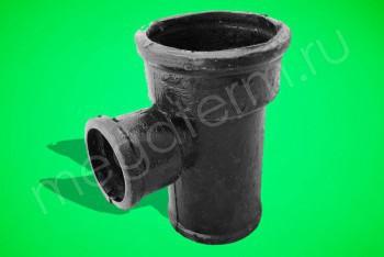 Канализация Тройник 100 - 50 х 90*, ЧК - Производство и продажа полипропиленовых труб «МегаТерм»