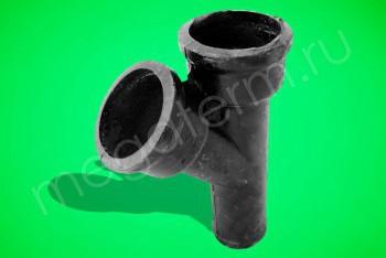 Канализация Тройник  50 - 50 х 45*, ЧК - Производство и продажа полипропиленовых труб «МегаТерм»