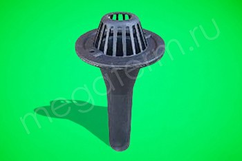 Воронка водосточная ЧК (комплект) - Производство и продажа полипропиленовых труб «МегаТерм»