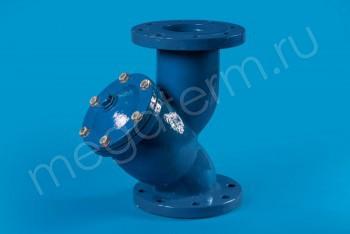 Чугун. Фильтр осадочный фланцевый Ду100 - Производство и продажа полипропиленовых труб «МегаТерм»