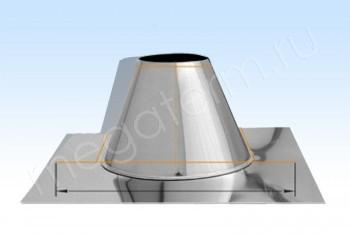 Основа Кровельная 0 гр. d160+7 L=200 А660хВ660 Н.С.(Огнерус) - Производство и продажа полипропиленовых труб «МегаТерм»