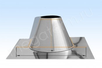 Основа Кровельная 0 гр. d300+7 L=250 А800хВ800 Н.С.(Огнерус) - Производство и продажа полипропиленовых труб «МегаТерм»