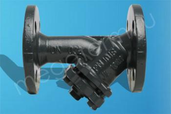 Чугун. Фильтр Сетчатый FVF с пробкой Ду 40. Фланцевыйй PN16 (Danfoss) - Производство и продажа полипропиленовых труб «МегаТерм»