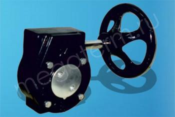 Редуктор для затворов DN 200 (Dendor) - Производство и продажа полипропиленовых труб «МегаТерм»