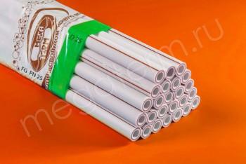 ППРС. Труба. PN25. FG (4м). D 25 х 4,2 армир. стекловолокном - Производство и продажа полипропиленовых труб «МегаТерм»