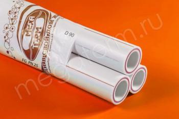 ППРС. Труба. PN25. FG (4м). D 90 х 15,0 армир. стекловолокном - Производство и продажа полипропиленовых труб «МегаТерм»