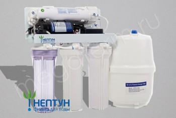 Фильтр - система RO-5 with pump (Нептун) - Производство и продажа полипропиленовых труб «МегаТерм»