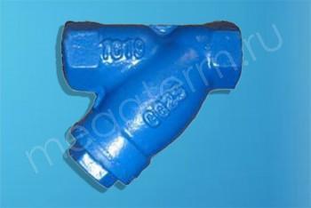 Чугун. Фильтр Сетч. Магнитный Ду 25. Муфтовый PN16 - Производство и продажа полипропиленовых труб «МегаТерм»
