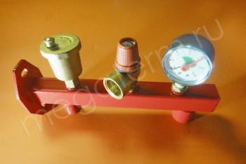 Группа безопасности отопительной системы SER1043 - Производство и продажа полипропиленовых труб «МегаТерм»