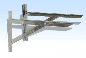 Консоль (Пара) А 500 х В350 х С302, Оц. Ст. (t=1.5) (Огнерус) - Производство и продажа полипропиленовых труб «МегаТерм»
