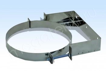 Крепление Стеновое d100, А100, В=200, Н=50, Оц. 1,5 (Огнерус) - Производство и продажа полипропиленовых труб «МегаТерм»