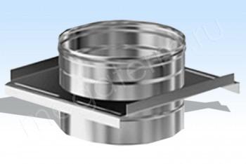 Крепление Опорное Моно d100, L=400 Оц(0.5/200х1,5)(Огнерус) - Производство и продажа полипропиленовых труб «МегаТерм»