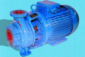 Насос КМ  80-65-160. с Двигателем 7,5/3000 (Катайск) - Производство и продажа полипропиленовых труб «МегаТерм»