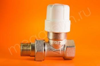 """Клапан Радиаторный Термостатический Прямой 1/2"""" - Производство и продажа полипропиленовых труб «МегаТерм»"""