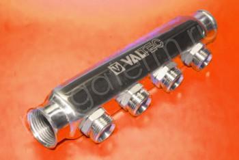 "Коллектор 1""х3/4""х 4 вых. Нар. Р Евроконус - Производство и продажа полипропиленовых труб «МегаТерм»"