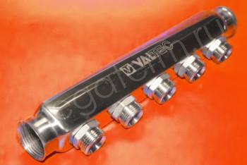 "Коллектор 1""х3/4""х 5 вых. Нар. Р Евроконус - Производство и продажа полипропиленовых труб «МегаТерм»"