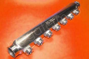 "Коллектор 1""х3/4""х 7 вых. Нар. Р Евроконус - Производство и продажа полипропиленовых труб «МегаТерм»"