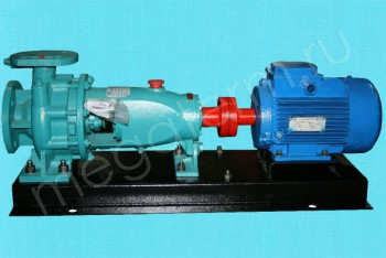 Насос К  80-65-160. Двигатель 7,5/3000 (ESQ) - Производство и продажа полипропиленовых труб «МегаТерм»