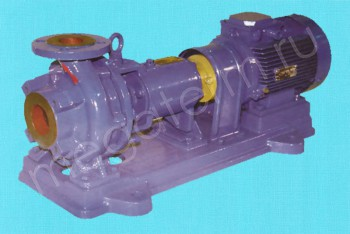 Насос К 100-65-250а. Двигатель 37/3000 (Катайск) - Производство и продажа полипропиленовых труб «МегаТерм»