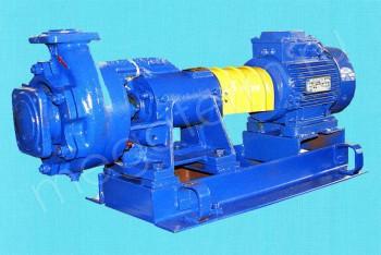 Насос 1К  65-50-160. Двигатель 5,5/3000 (Ливны) - Производство и продажа полипропиленовых труб «МегаТерм»