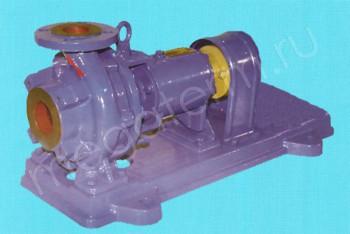Насос К  65-50-125. без Двигателя, на Раме (Катайск) - Производство и продажа полипропиленовых труб «МегаТерм»