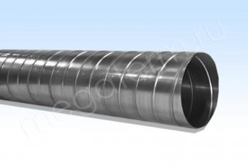Воздуховод D 100, L=3000, Оц. 0,5 Круглый Спирально-Навивной - Производство и продажа полипропиленовых труб «МегаТерм»
