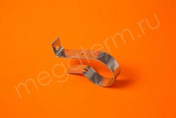 Крепление-хомут ст.хром. для  п/сушит.Ду 32 - Производство и продажа полипропиленовых труб «МегаТерм»
