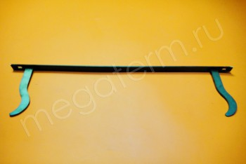 Кронштейн Радиаторный на Полосе 500х140 мм - Производство и продажа полипропиленовых труб «МегаТерм»