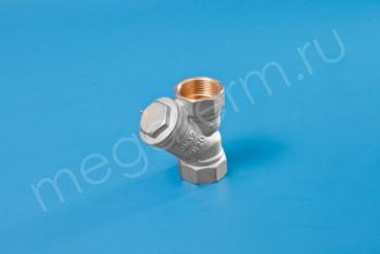 """Латунь. Фильтр сетчатый Ду 32 (G 1.1/4"""") - Производство и продажа полипропиленовых труб «МегаТерм»"""